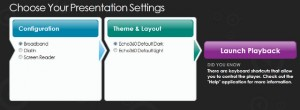 echo360 presentation settings resized