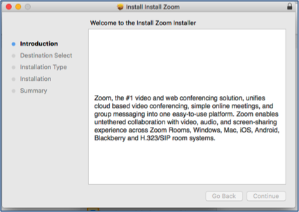 install zoom on mac